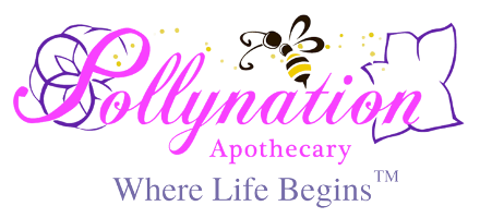 Pollynation Apothecary. Click for home.