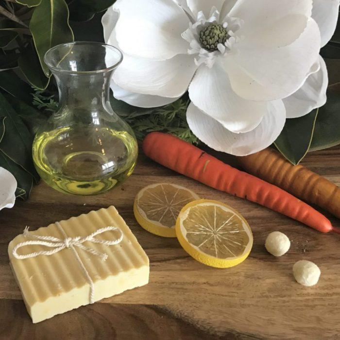 carrot cake soap