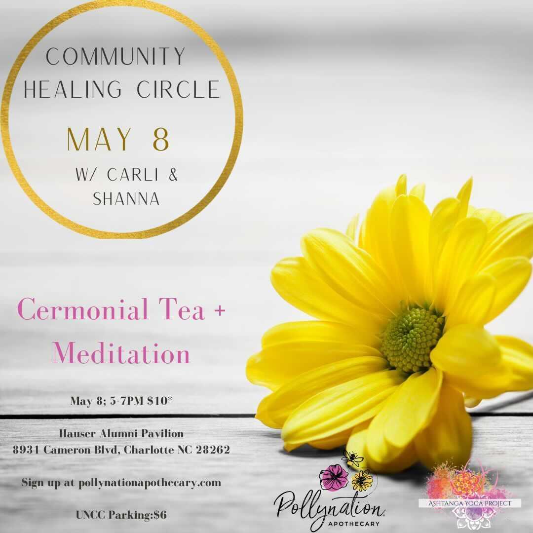 Healing Circle Event (Ceremonial Tea + Meditation) (Copy)